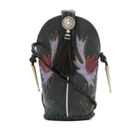 Jessie Western Mini Bucket Bag - Preto