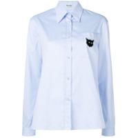 Miu Miu Long Sleeved Shirt - Azul