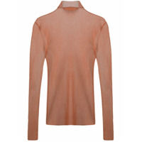 Dion Lee Sheer Knit Sweater - Rosa