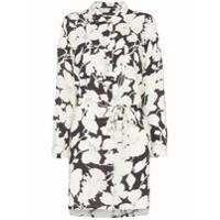 Double Rainbouu Cloud Control Floral Print Shirt Dress - Estampado