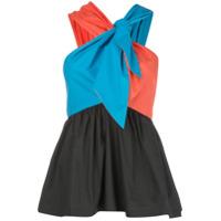 Isa Arfen Blusa Color Block - Estampado