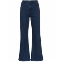 Eve Denim Calça Jeans Flare Cropped 'jacqueline' - Blue