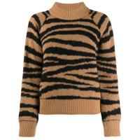A.p.c. Suéter Com Animal Print - Neutro