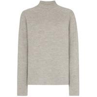 Carcel Milano Alpaca Wool Turtleneck Sweater - Cinza