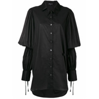 Ann Demeulemeester Camisa Mangas Longas - Preto