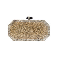 Marchesa Clutch - Metálico
