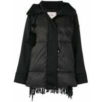 Peuterey Padded Textured Back Jacket - Preto