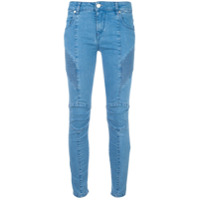 Pierre Balmain Calça Jeans Cropped - Azul