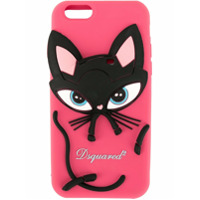 Dsquared2 Capa 'cat' Para Iphone 6/6S/7/8 - Rosa