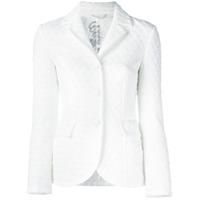 Ermanno Scervino Quilted Blazer Jacket - Branco