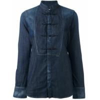 Dsquared2 Camisa Mangas Longas - Azul