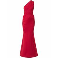 Rachel Gilbert Vestido De Festa Assimétrico - Vermelho