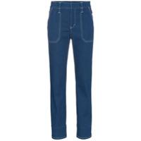 Chloé Calça Jeans Reta - Azul