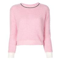 Marni Suéter Decote Careca - Rosa