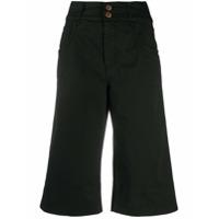 See By Chloé Bermuda Jeans - Preto