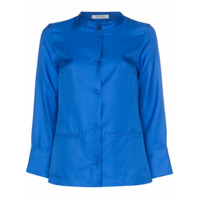 Deitas Camisa China De Seda - Azul