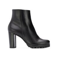 Hogl Ankle Boot Plataforma - Preto