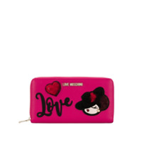 Love Moschino Carteira 'love' - Rosa