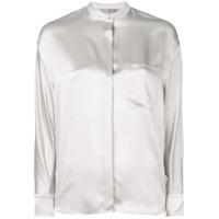 Vince Single Pocket Shirt - Cinza