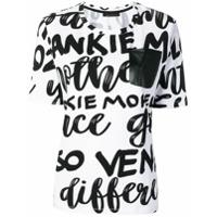 Frankie Morello Camiseta Com Estampa De Logo - Branco