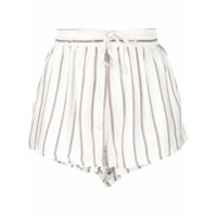 Onia Shorts Estampado - Arrowhead Stripe