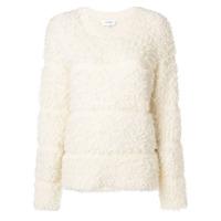Carven Suéter Listrado - Branco
