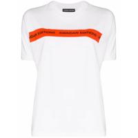 Kwaidan Editions Camiseta Com Logo De Algodão E Jérsei - Branco