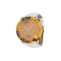 Yunik Relógio Stone 44Mm Grande - Branco