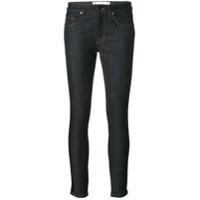 Victoria Victoria Beckham Calça Jeans Skinny Cropped - Cinza