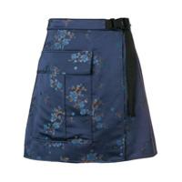 Kenzo Saia Cargo Floral - Azul