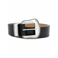 B-Low The Belt Cinto Com Efeito Crocodilo - Preto