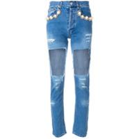 Forte Dei Marmi Couture Calça Jeans Skinny - Denim Light Blue