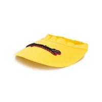 Dsquared2 Viseira Com Patch De Logo - Amarelo