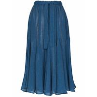 Lisa Marie Fernandez Saia Midi Marguerite - Azul
