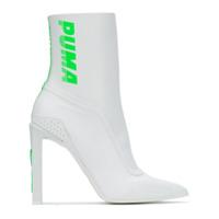 Fenty X Puma Ankle Boot Com Logo - Branco