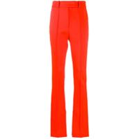 Ssheena Calça Pantalona Cintura Alta - Laranja