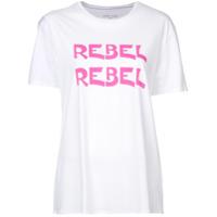 6397 Camiseta Com Estampa 'rabel' - Branco
