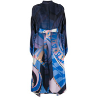 Emilio Pucci Vestido Com Estampa Abstrata - Colorido