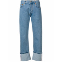 Forte Dei Marmi Couture Cropped Straight-Leg Jeans - Azul