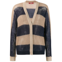 Max Mara Studio Cardigan Color Block - Azul