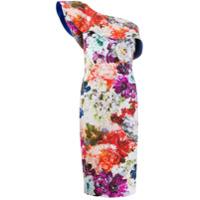 Le Petite Robe Di Chiara Boni Vestido Floral De Um Ombro Só - Estampado