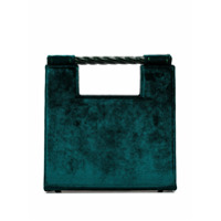 Mehry Mu Unicorn Velvet Tote Bag - Verde