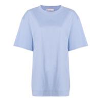 Marni Camiseta Oversized Mangas Curtas - Azul