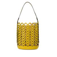 Kate Spade Bolsa Saco Com Trançado - Amarelo