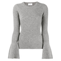 Allude Wide Sleeve Jumper - Cinza