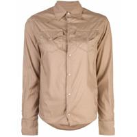 A Shirt Thing Amisa Com Bolso - Marrom