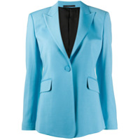 Paul Smith Blazer Com Abotoamento Simples - Azul