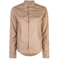 A Shirt Thing Chest Pocket Shirt - Marrom
