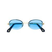 Sauren Eyewear Óculos De Sol 'karya' - Azul