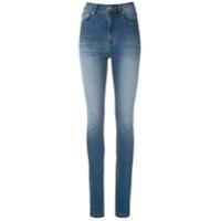 Amapô Calça Jeans Skinny Fátima - Azul